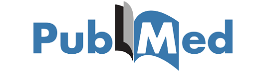 pubmed logo with a transparent background